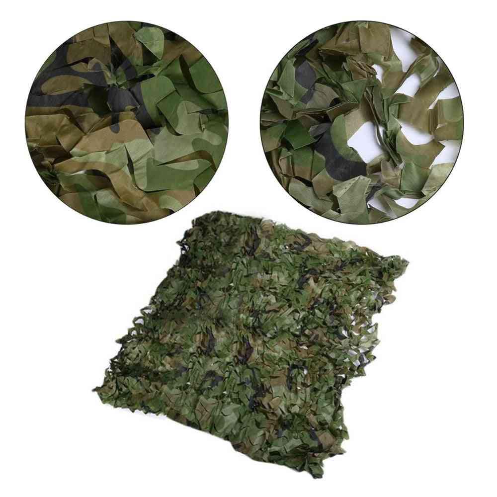 0.5x0.5m/0.5x1m Hunting Military Camouflage Nets