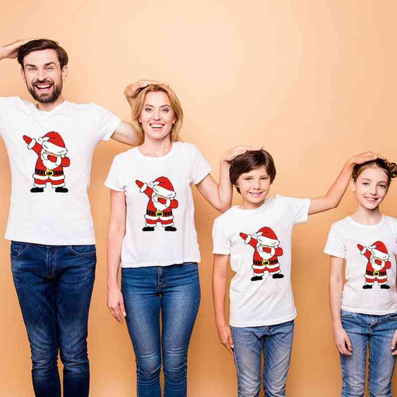 Christmas Family Matching Clothes, Short Sleeve T-shirt