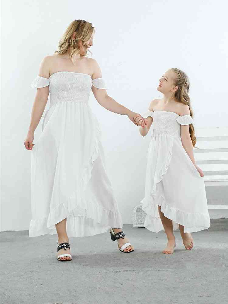 Mother Daughter Dress, Family Matching Dresses