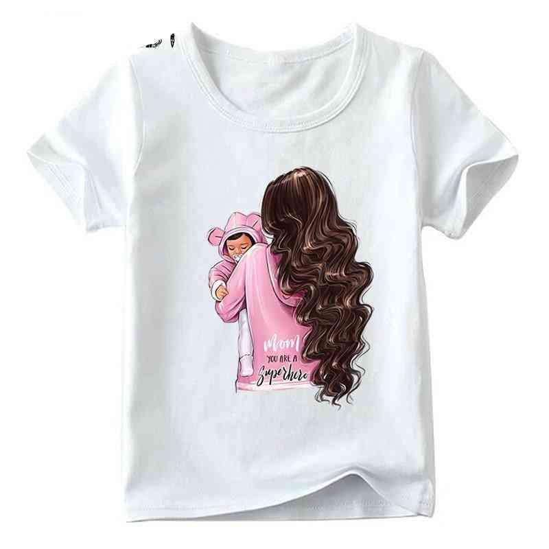 Family Look T-shirt, Super Print T-shirt