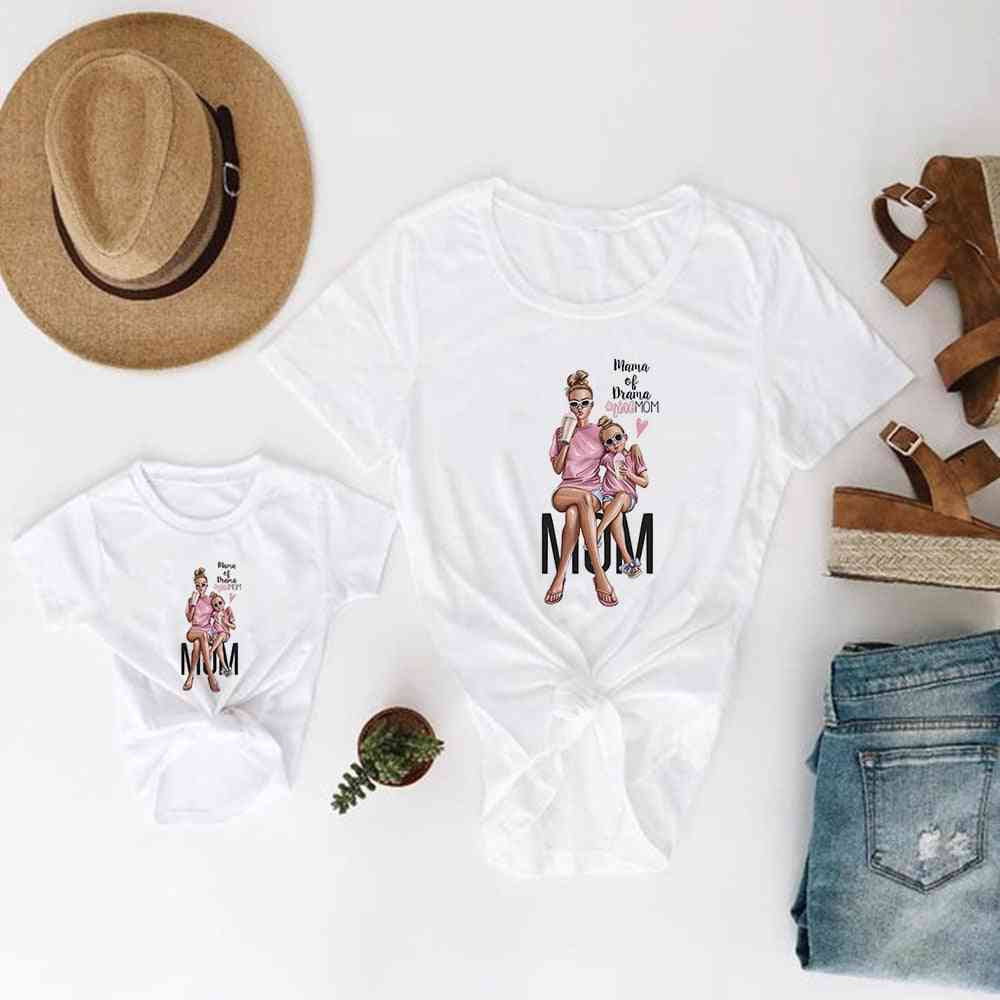 Mother And Daughter Clothes, Super Baby T-shirt
