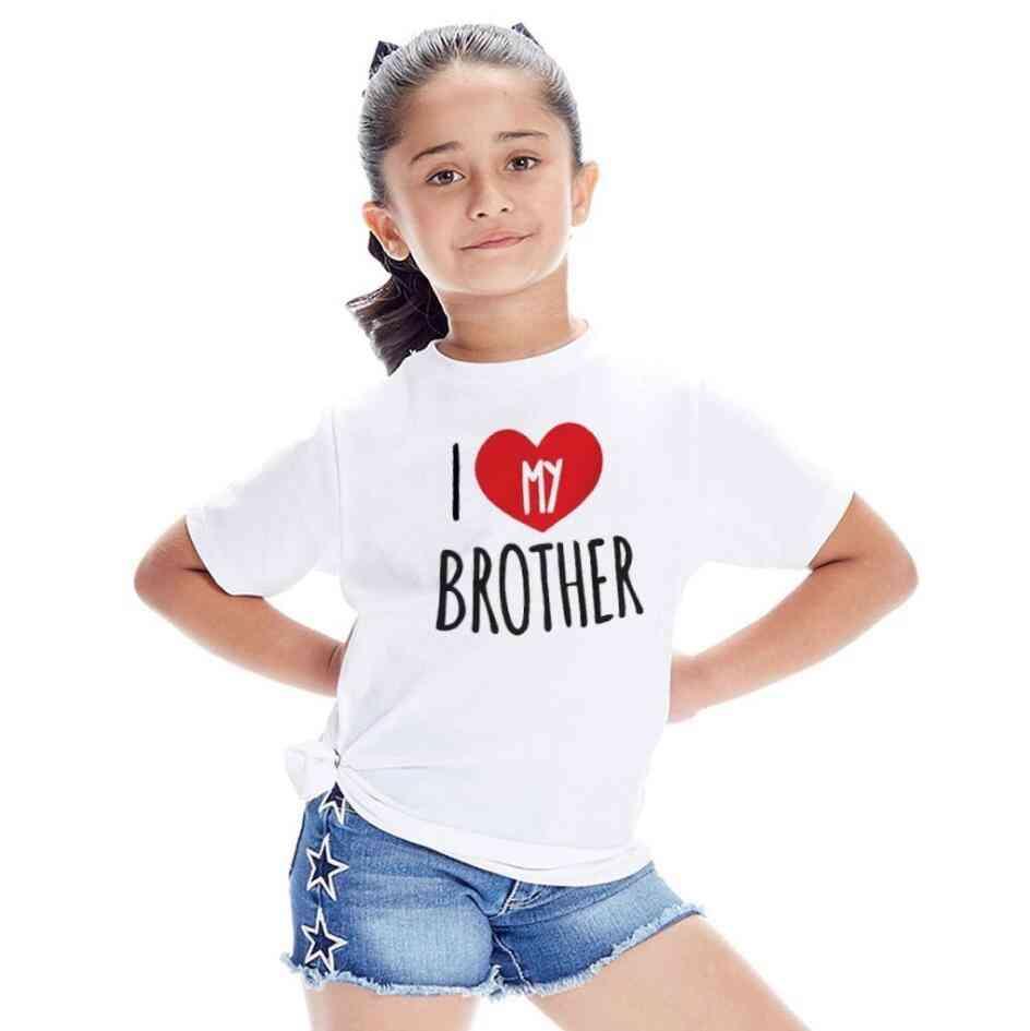 Kids T-shirt, Tops, Summer Short Sleeve Shirt