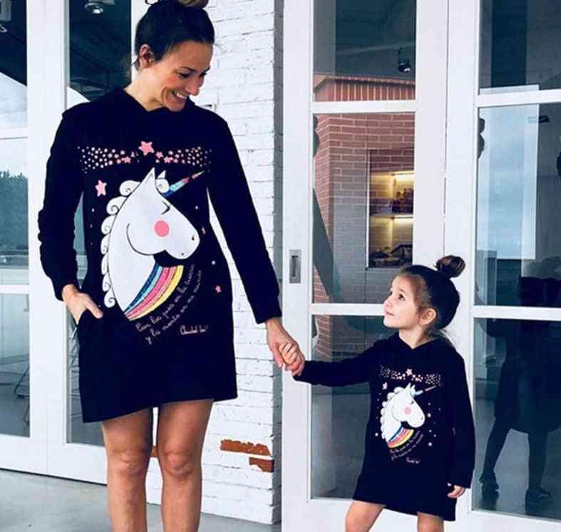 Mommy Clothes, Winter Hoodies Dress Mini Dress
