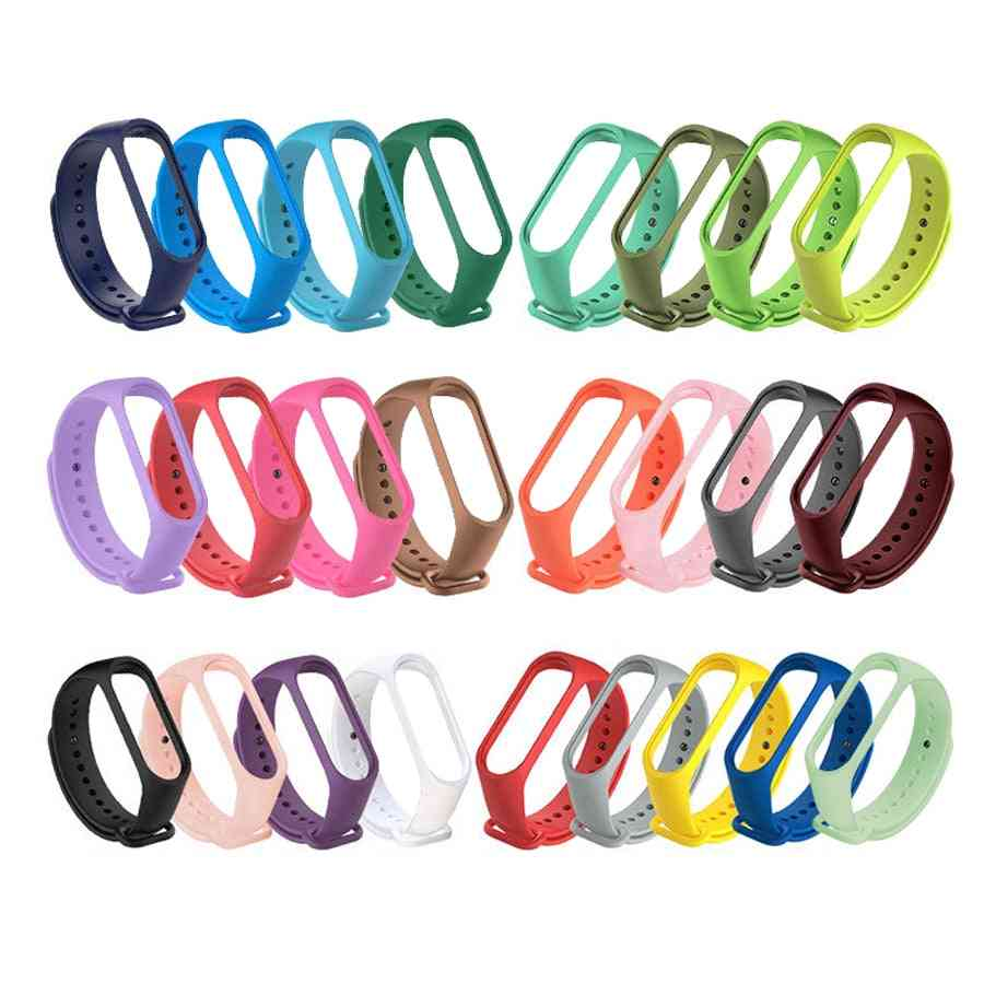 Silicone Wristband Bracelet Replacement Soft Strap