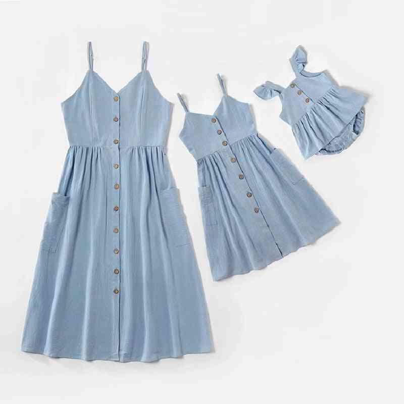 Tank Mother Daughter Dress, Family Matching Clothes