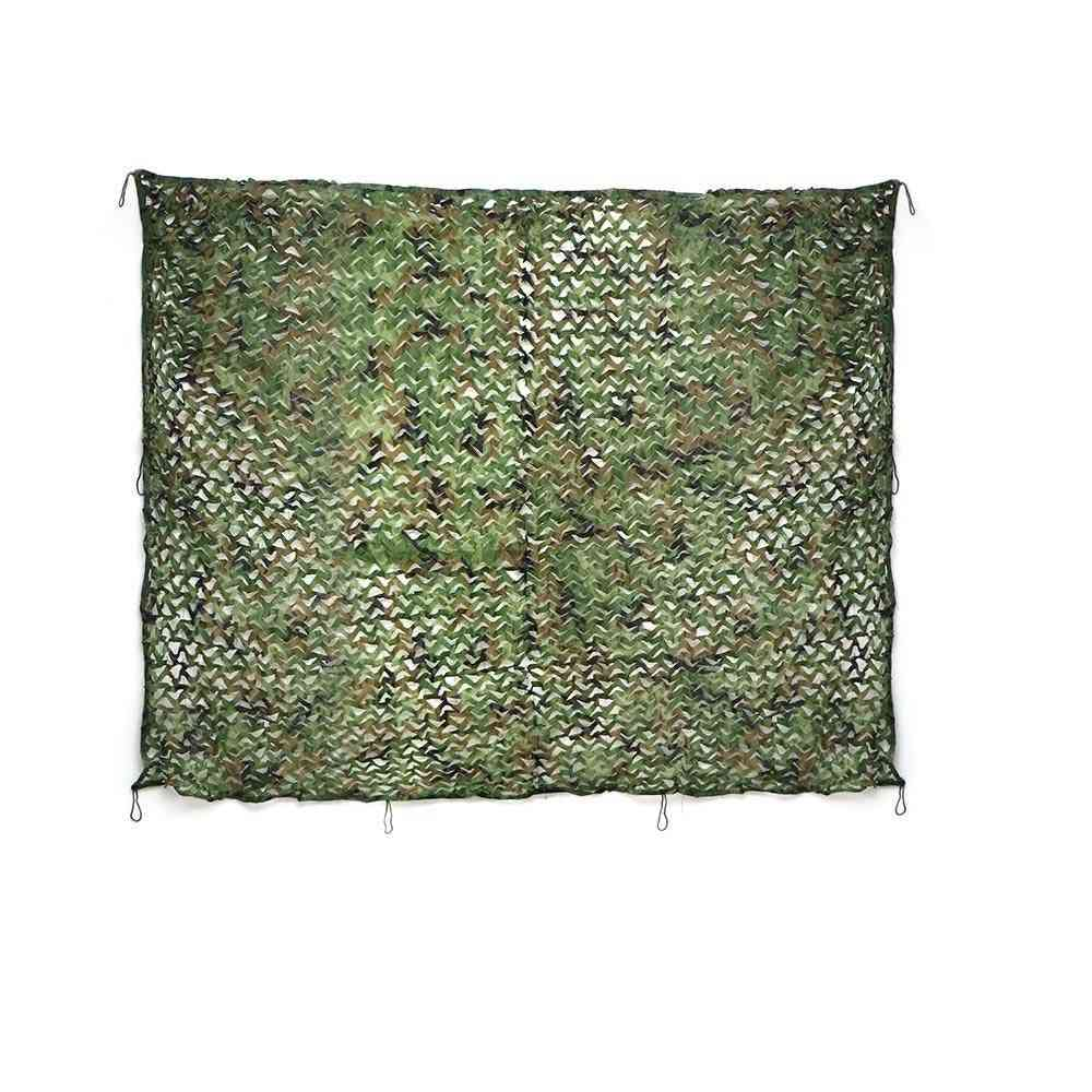 Hunting Camouflage Net Outdoor Blind Tree Stand Waterproof Rot-resistance Mould-resistance Suitable War Game Sports Camping