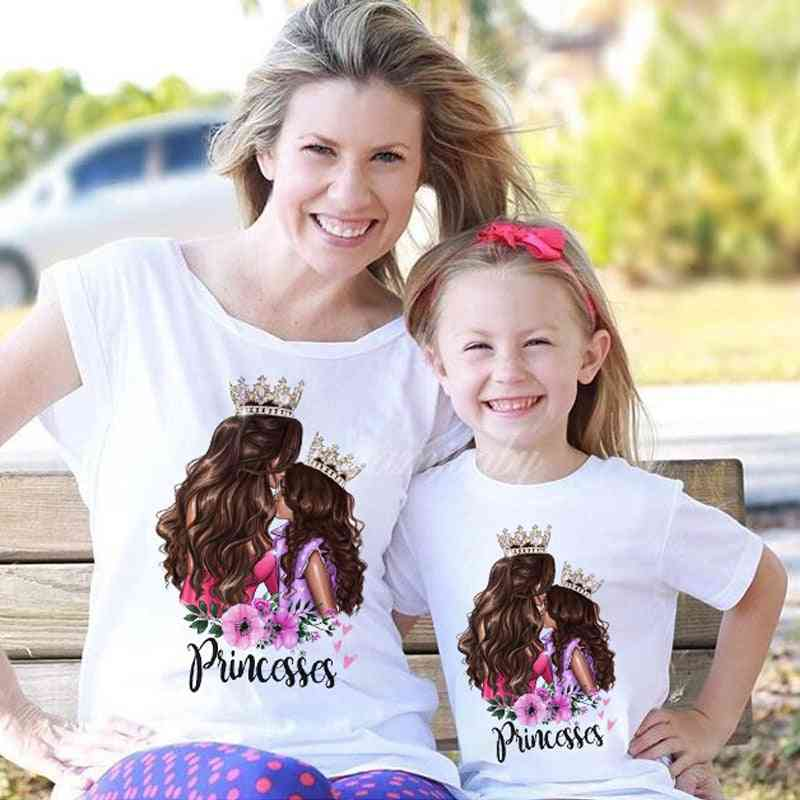 New Family Clothes, T-shirt For Mother And Daughter