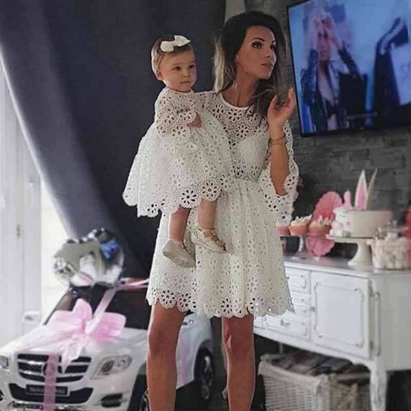 Fashion Family Clothes, Mother Daughter Dresses