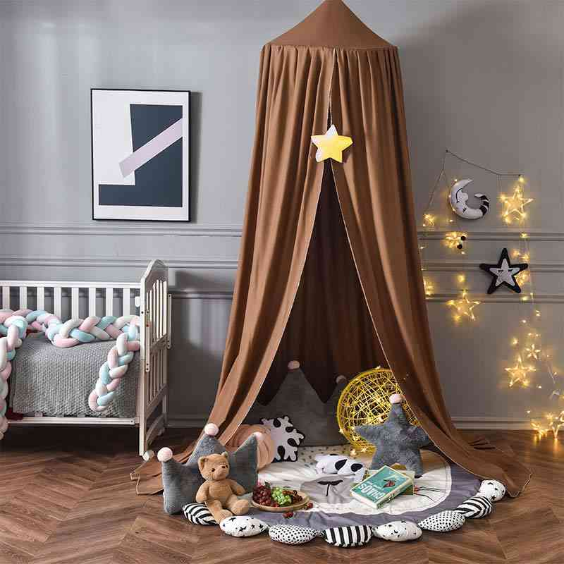 Baby Canopy Room Decoration Crib, Netting Tent, Viscose Fiber, Mosquito Net, Photography Props