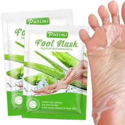 Nutritive Moisturzing Aloe Foot Mask