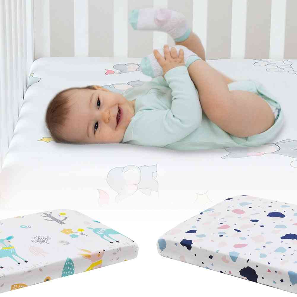 Crib Sheets For Baby, Mattress Bedding Sets, Breathable And Hypoallergenic,  Sheet Cotton, Bedding