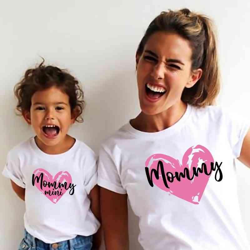 Rainbow Tops, Summer Mother Daughter T-shirt