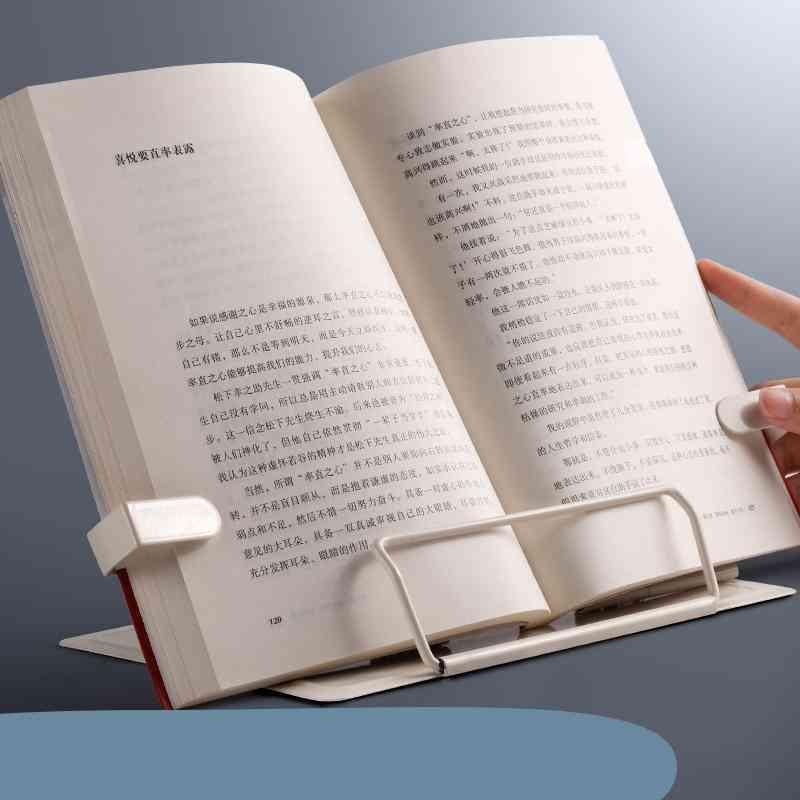 Portable Metal Adjustable Reading Book Holder / Bookstand