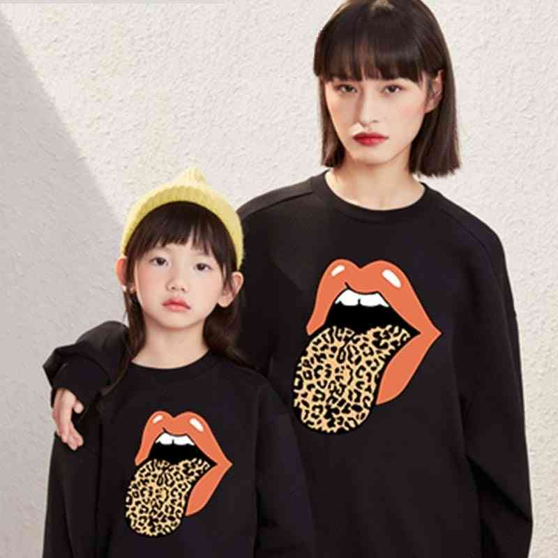 Autumn Mother Daughter Son Sweatshirt, Family Matching Tops