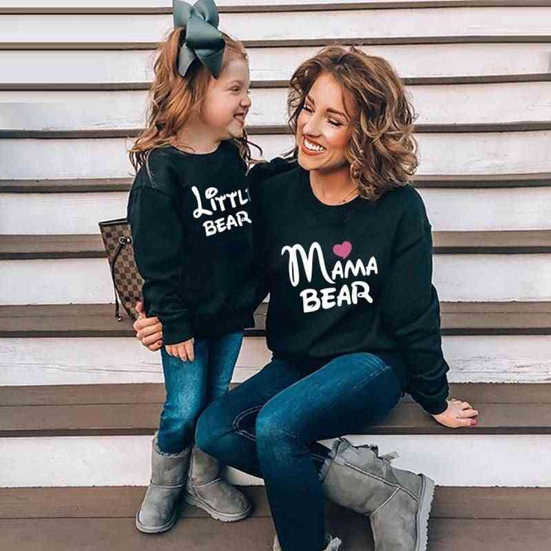 Mother Daughter Son Sweatshirt, Family Mom Tops