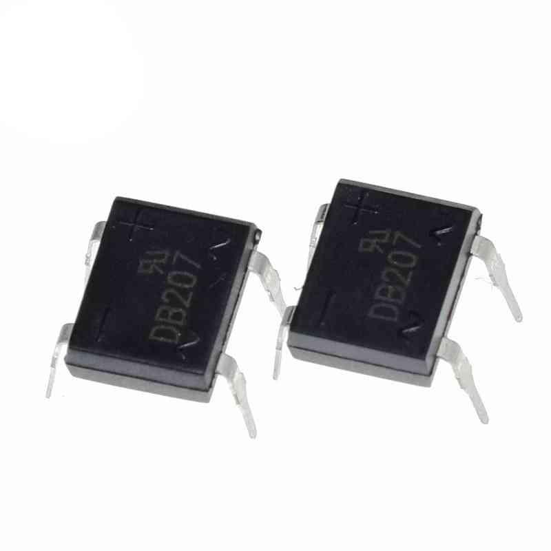 Diode Bridge Rectifier Db207 Dip-4 , 2a 1000v