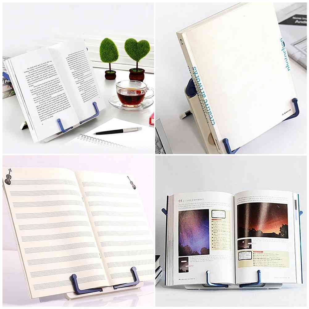 Folding Tabletop Music Rack Book Piano Score Reading Sheet Stand Holder
