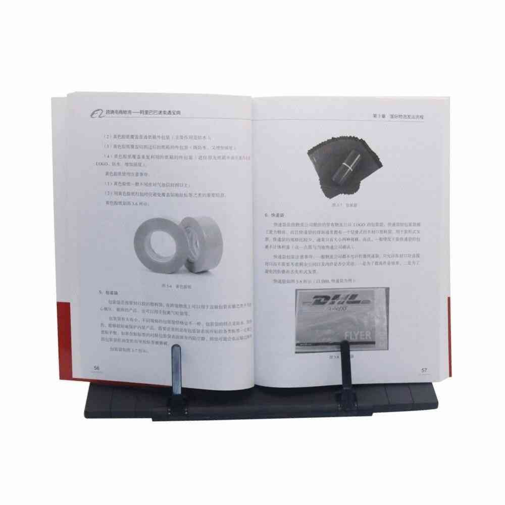 Bookshelf Lazy People Clip Reader Tool Bookend Books Holder