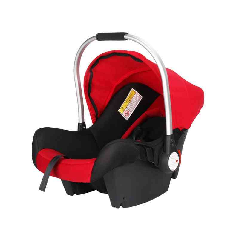 Infant Babies Basket-style Safety Car Seat, Portable Child Automotive Safety Seats, Kids Outdoor Handle Cradle