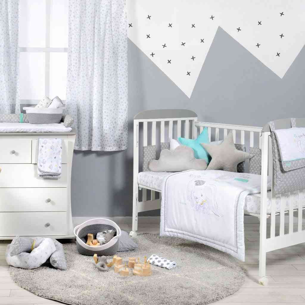 Disney Baby Dumbo Dream Big Crib Sheets