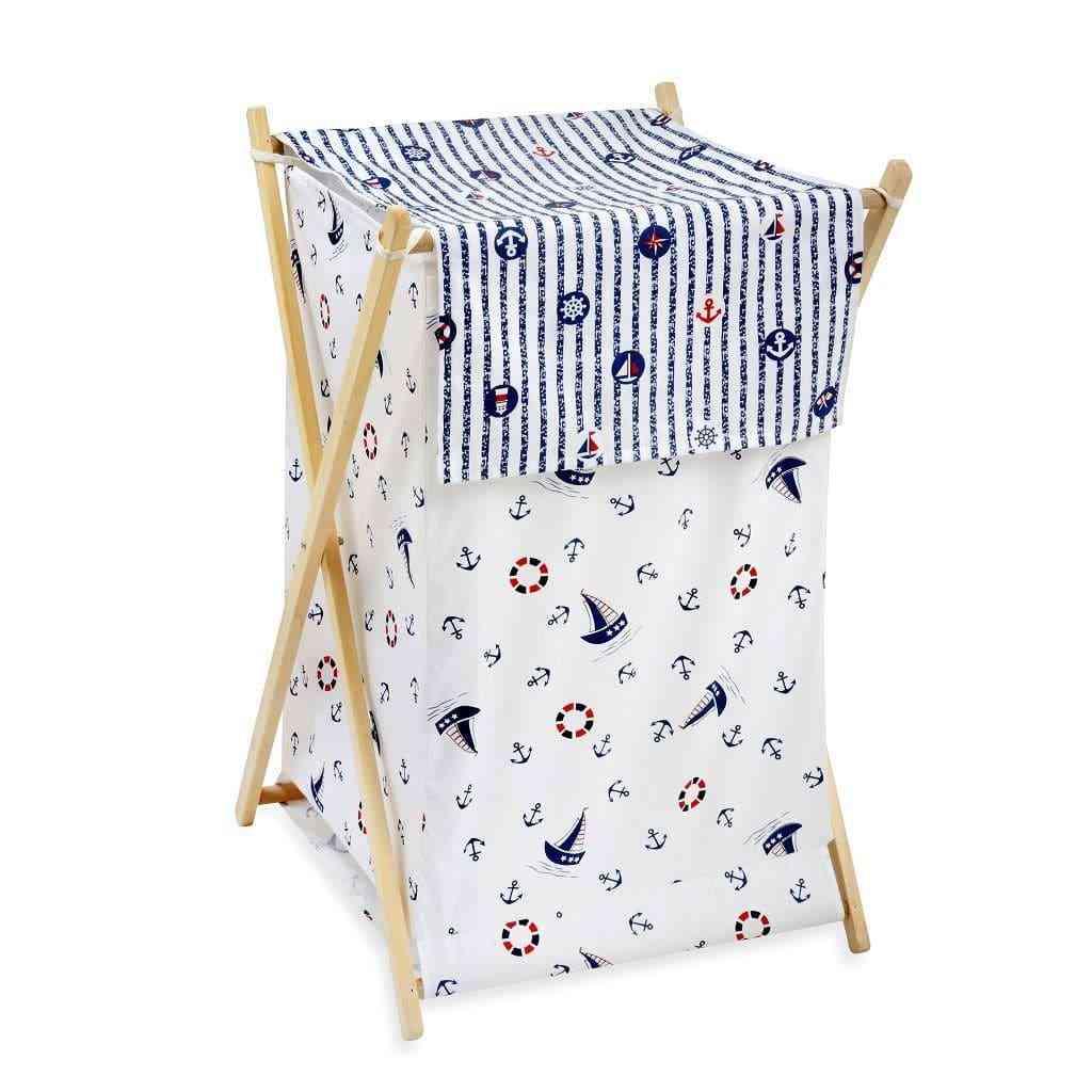 Blue Sail Away-laundry Baskets
