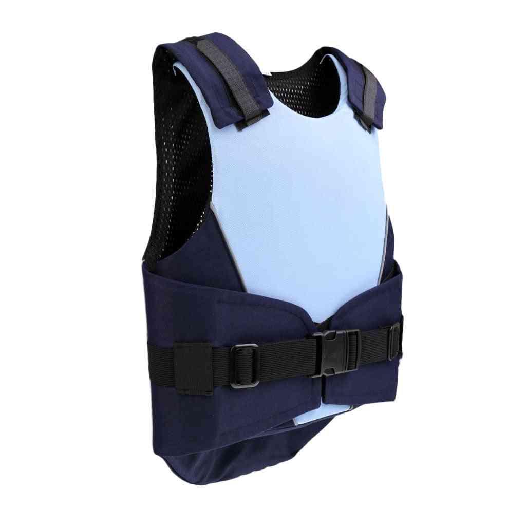 Flexible Body Protective Gear Equestrian Horse Riding Vest Kids