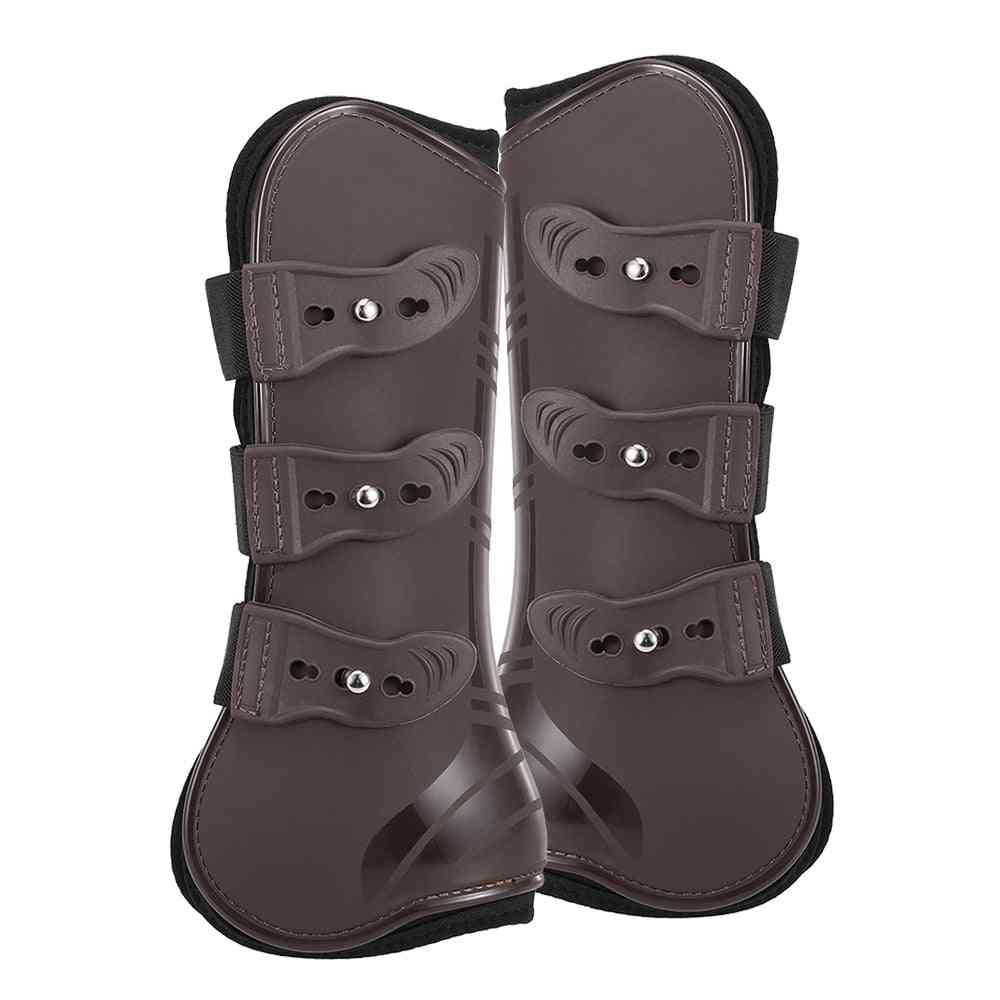 Adjustable Front Hind Leg Guard Equestrian Horse Leg