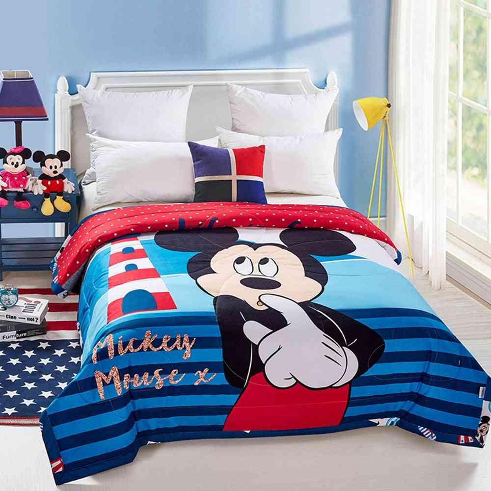 Baby Cotton Quilt Infant Blanket, Cartoon Blanket Sleep Cover