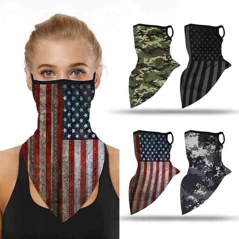 Hiking Bike Breathable Head Wrap Mask, Ski Windproof Mask