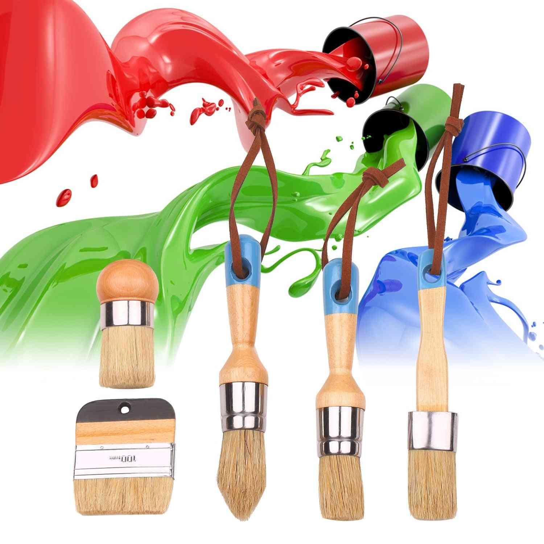 Household Paint Brushes Set