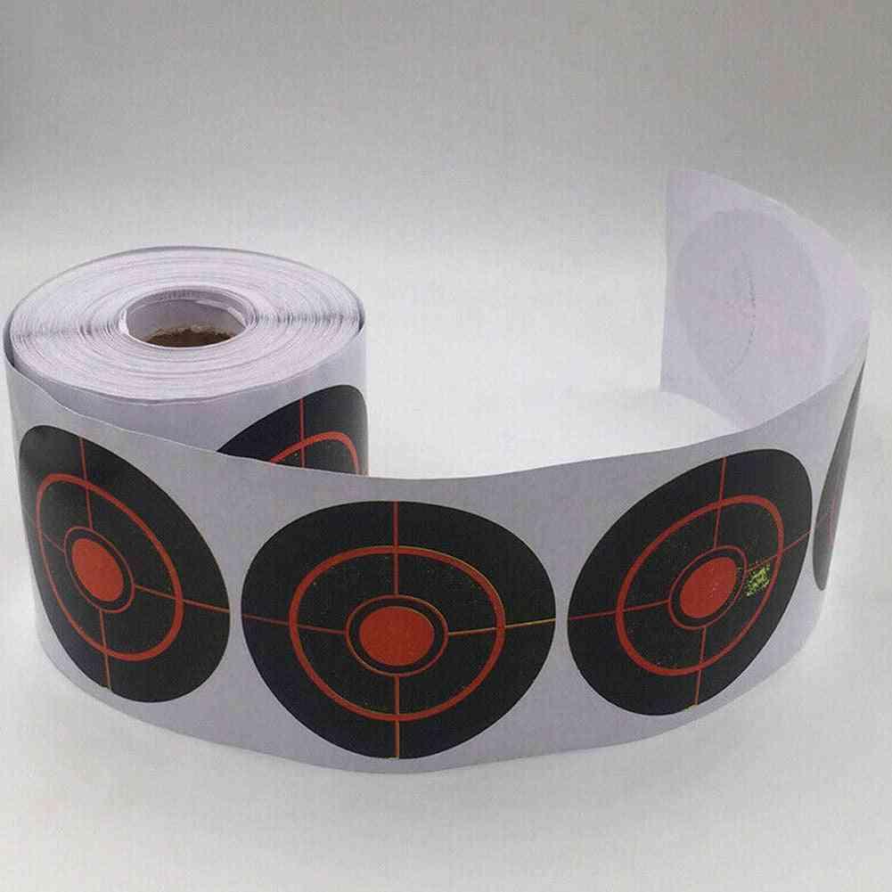 Roll Of Shooting Target Splatter Reactive Stickers For Shooting Practice