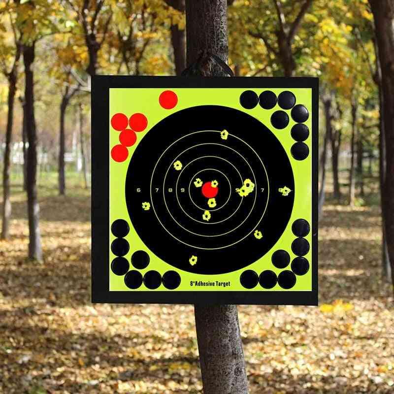 Splash Flower 8-inch Binders Adhesive Lightweight Shooting Practice Target