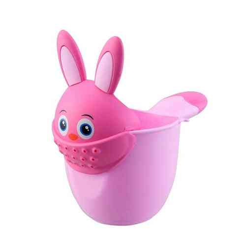 Infant Child Shower Shampoo Cup Cartoon Shower Cup Watering Spoon