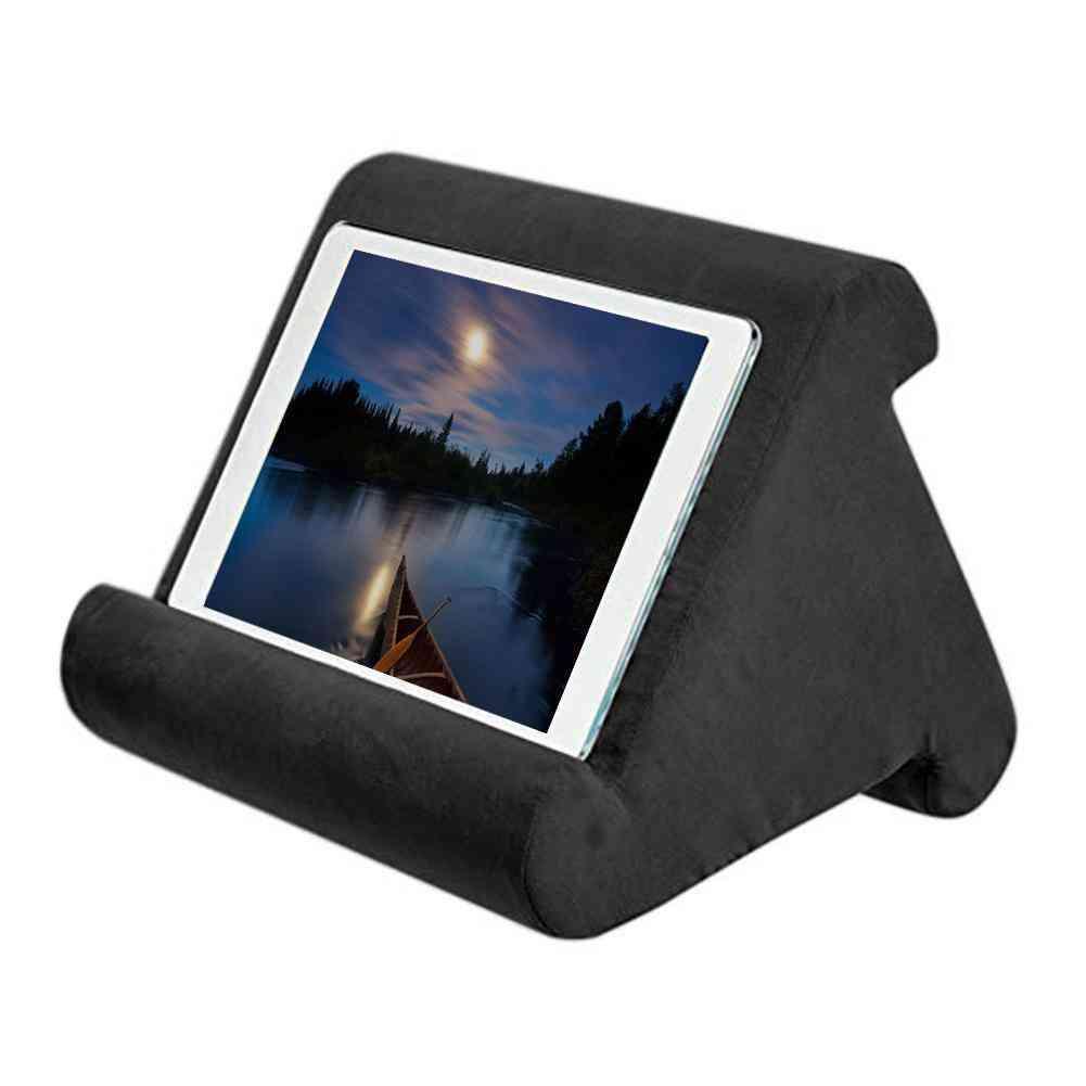 Portable, Triangular And Folding Tablet Reading Bracket