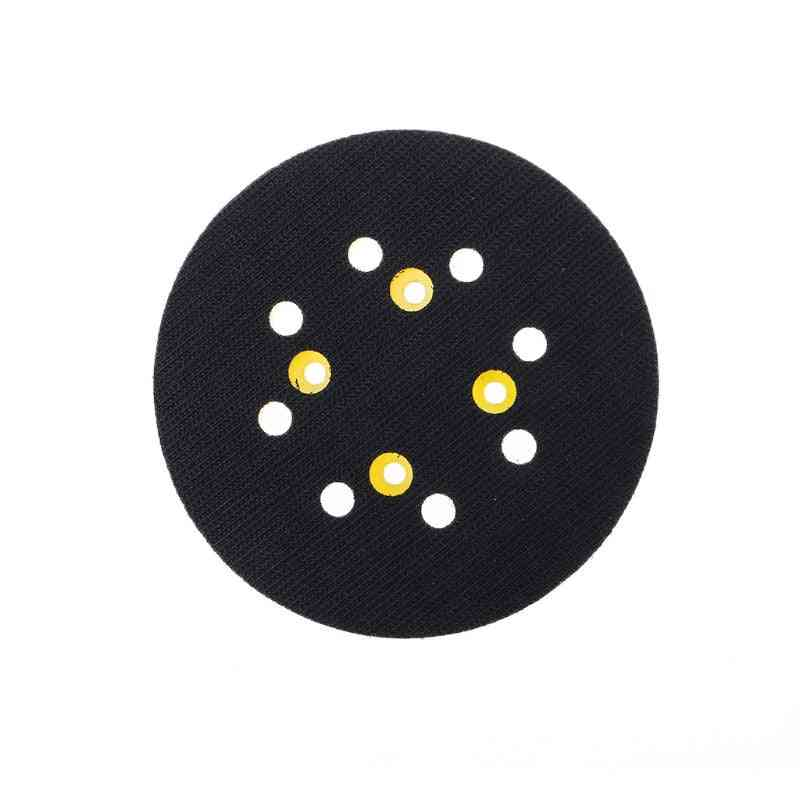 8-hole Back-up Sanding Pad, 4 Nails Hook And Backing Pad