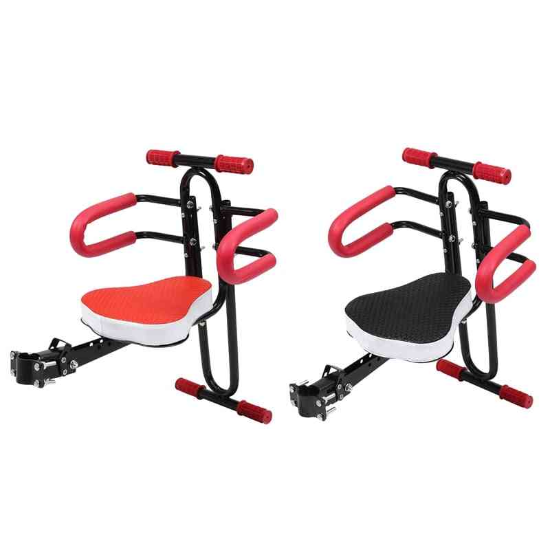 Electric Bicycle, Child Baby Chair Bike, Front Safety Release Saddle, With Armrest Guard Bar, Pedal Cycling Acccessories
