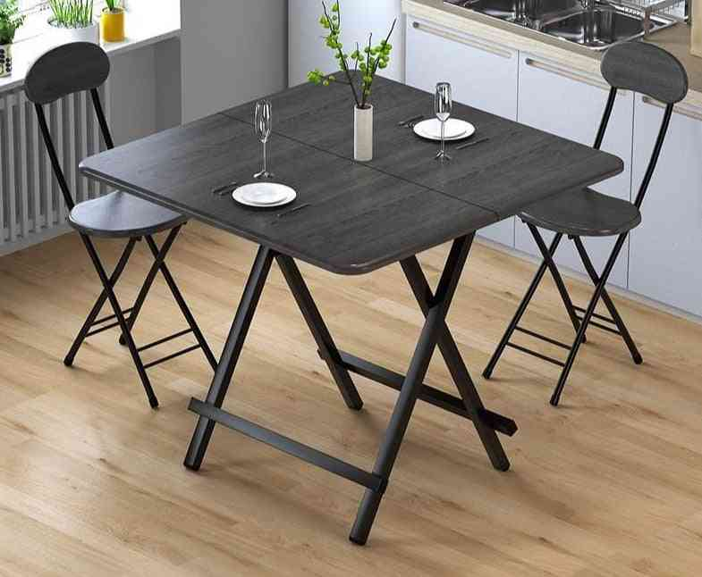 Folding Portable Table, Simple Home Dining Coffee Table
