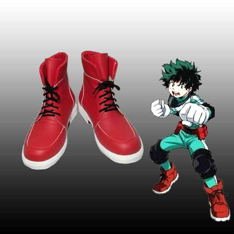 Hero Academia Izuku Deku Cosplay Shoes