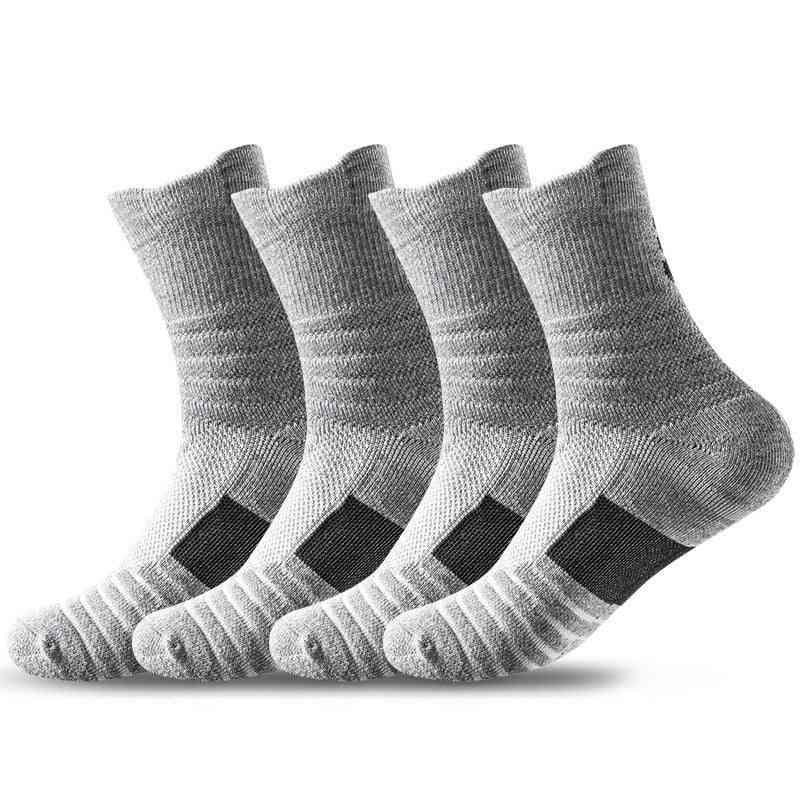 Professional Basketball Elite Socks Tube Thick Towel Socks