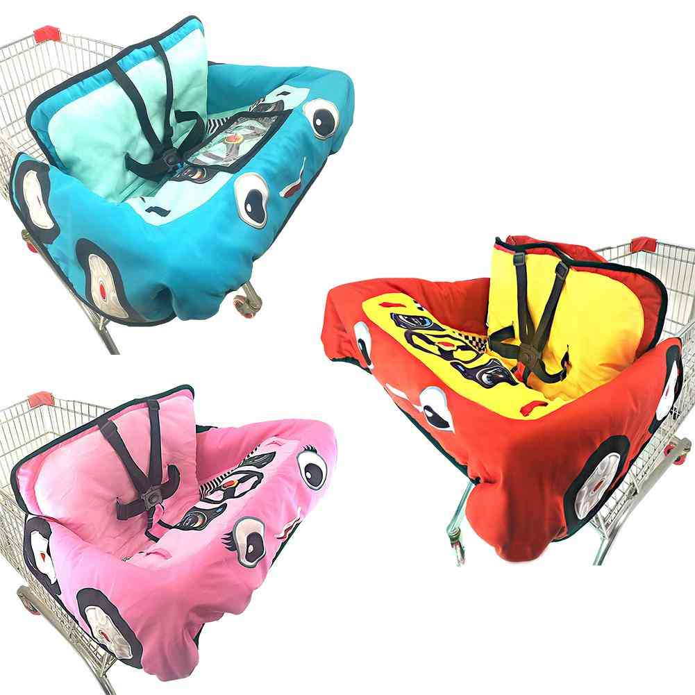 Baby Supermarket Shopping Cart Cushion, Dining Chair, Protection Safety Travel, Portable Cushions