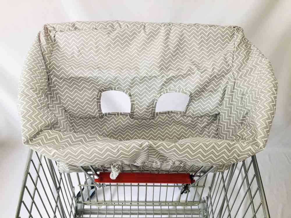 Material Peach Skin Velvet, Standard Size, Baby Shopping Cart Covers, High Chair & Cushy Cover For Infant & Toddler