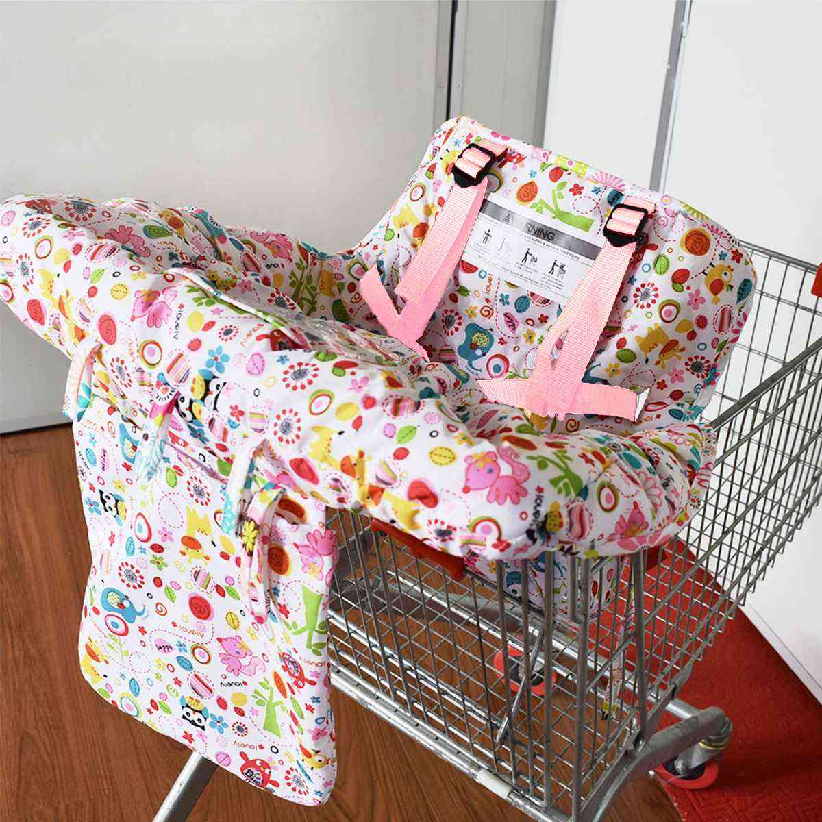 Shopping Cart Covers, Protection Baby, Supermarket Foldable Bag, Dining Highchair Cover, Kids Cushion, Mat For Baby Infant