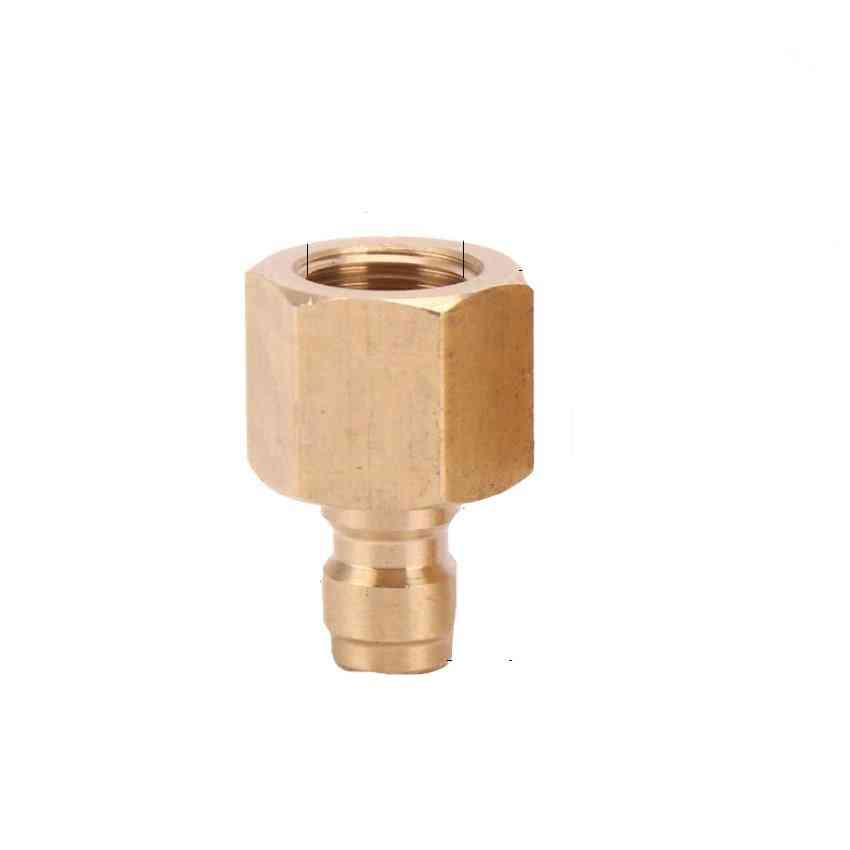 Pcp Paintball 1/8bspp Copper Quick Coupler Connector Fittings Air Refilling M10x1 1/8npt 8mm Male Plug Socket