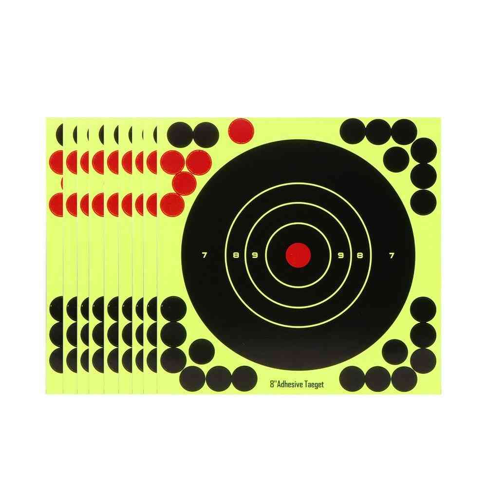 Splash Flower Target Adhesive Reactivity Shoot Target Aim For Gun
