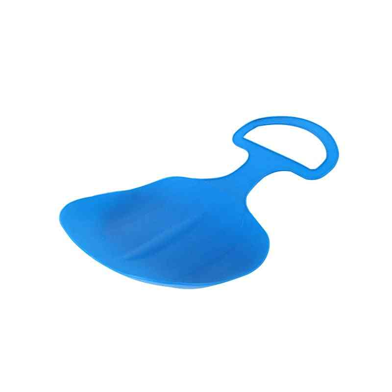 Kids Snowboard Sleds Outdoor Sport Thick Plastic Boards