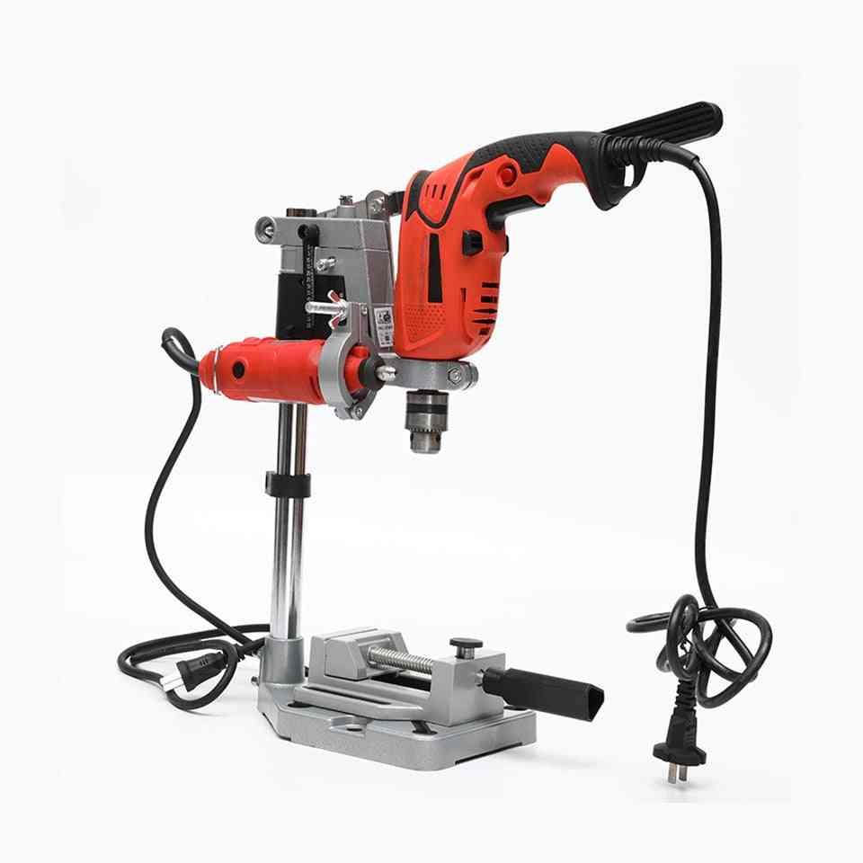 Electric Drill Bracket Grinder Rack Stand Clamp Grinder Rotary Tool