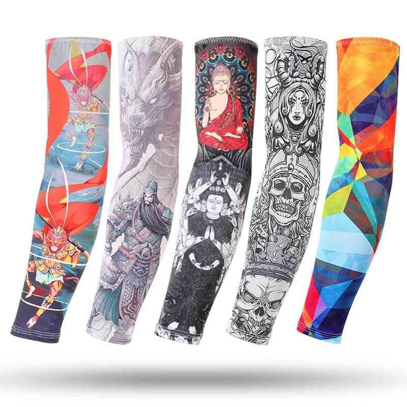 Arm Sleeves  /  Elbow Pad Fitness Armguards & Armwarmers