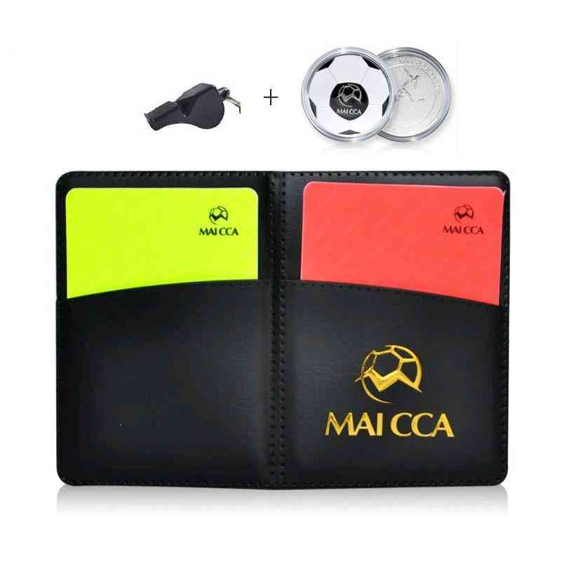 Referee Cards With Pencel Book Coins Set