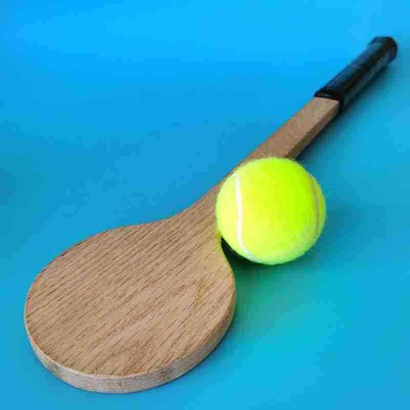Tennis Pointer Wooden,  Spoon Raccket, Great For Practice And Warm Up For Men, Women