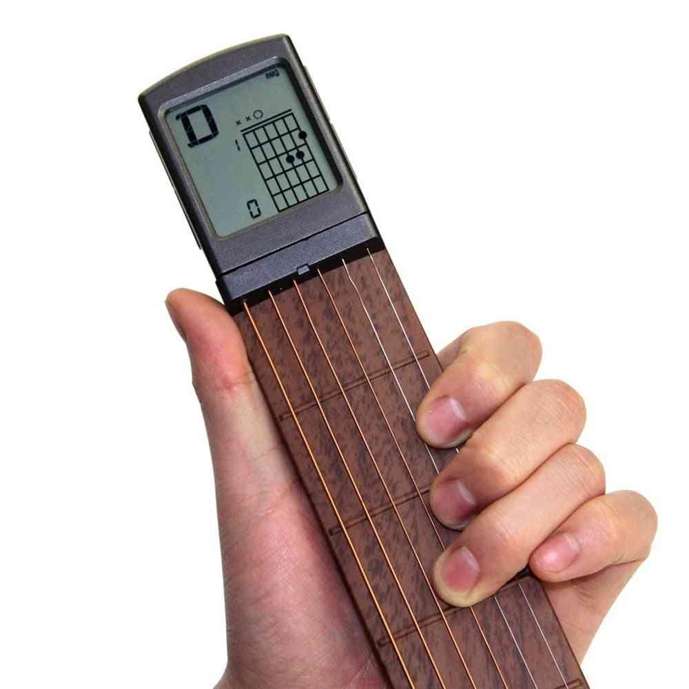 Screen Guitar Finger Trainer For Beginner